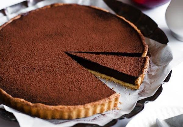 French Style Chocolate Tart