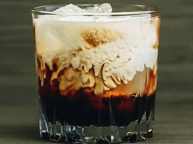 White Russian Cocktail