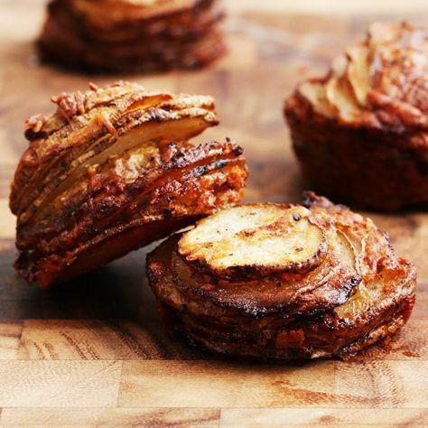 Garlic Roasted Potato Skins